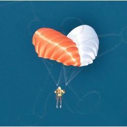 Steerable Rescue parachute X-Curve