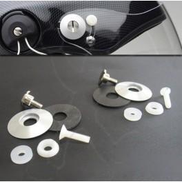 Visor fixing system for Icaro helmet