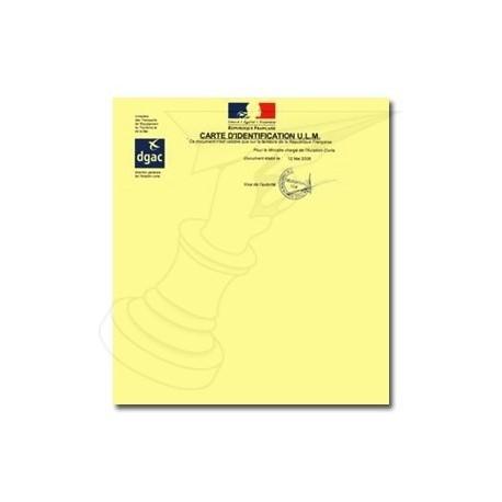 Service identification paramotor