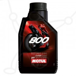 Huile Motul 800 2T 1L FACTORY LINE Road Racing