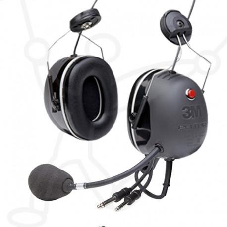 Headset 3M-X5 connecteur GA 6.3+5.2 bande aviation