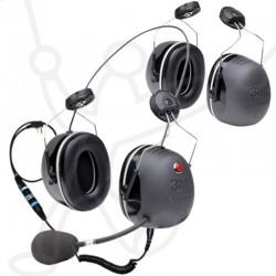Coques/Headset casque paramoteur 3M-X5 MODUL