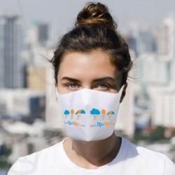 Masque de protection en tissu pour pilotes