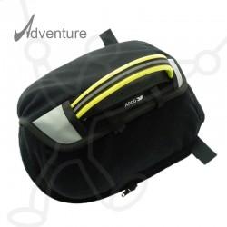 Adventure side parachute container
