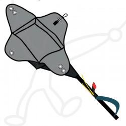 Kit secours SupAir : poignée de sellette + Pod container parachute