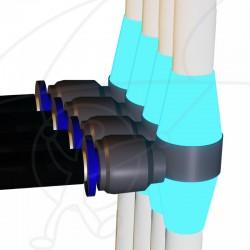 Pack 4 Rod Fitting V2 Fluo
