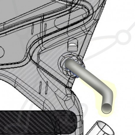 Adventure Pluma paramotor harness tube
