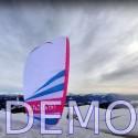 Paraglider ITV Wasabi L demo.