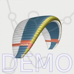 Paraglider NOVA Aonic demo