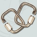Pack 7mm stainless steel square links