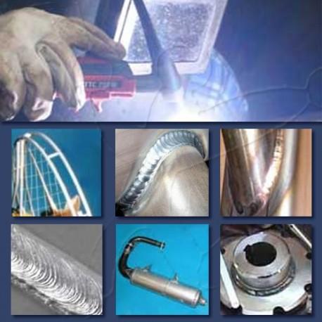 Service - aluminum with TIG welding repair
