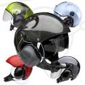 Paramotor helmets
